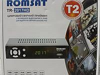 Romsat TR-2017 HD цифровой эфирный DVB-T2 ресивер