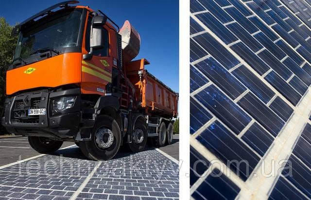Дорога France Wattway Solar