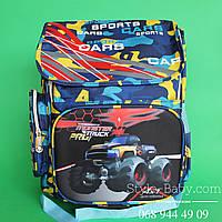 Школьный рюкзак для мальчика ортопедическая спинка 28 л 3 отделения 35х20x40см