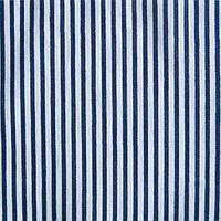 Ткань поплин-коттон стрейчевый в полоску (дизайн 8)