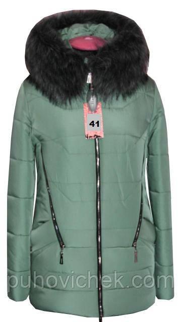 Зимние куртки женские укороченные с мехом