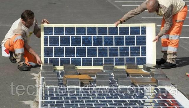 Строительство France Wattway Solar