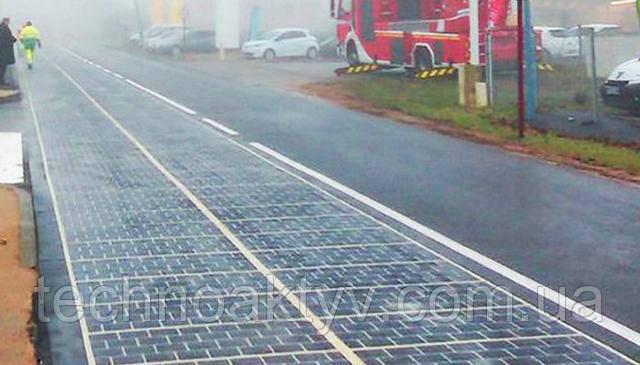 «Солнечная дорога» будет производить 280 мегаватт-часов