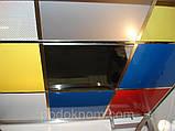 Підвісний касетний стеля металевий RAL 9006, фото 2