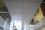 Підвісний касетний стеля металевий RAL 9006, фото 4