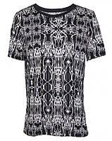 Мужская футболка черно-белая Junk Yard XL(54)