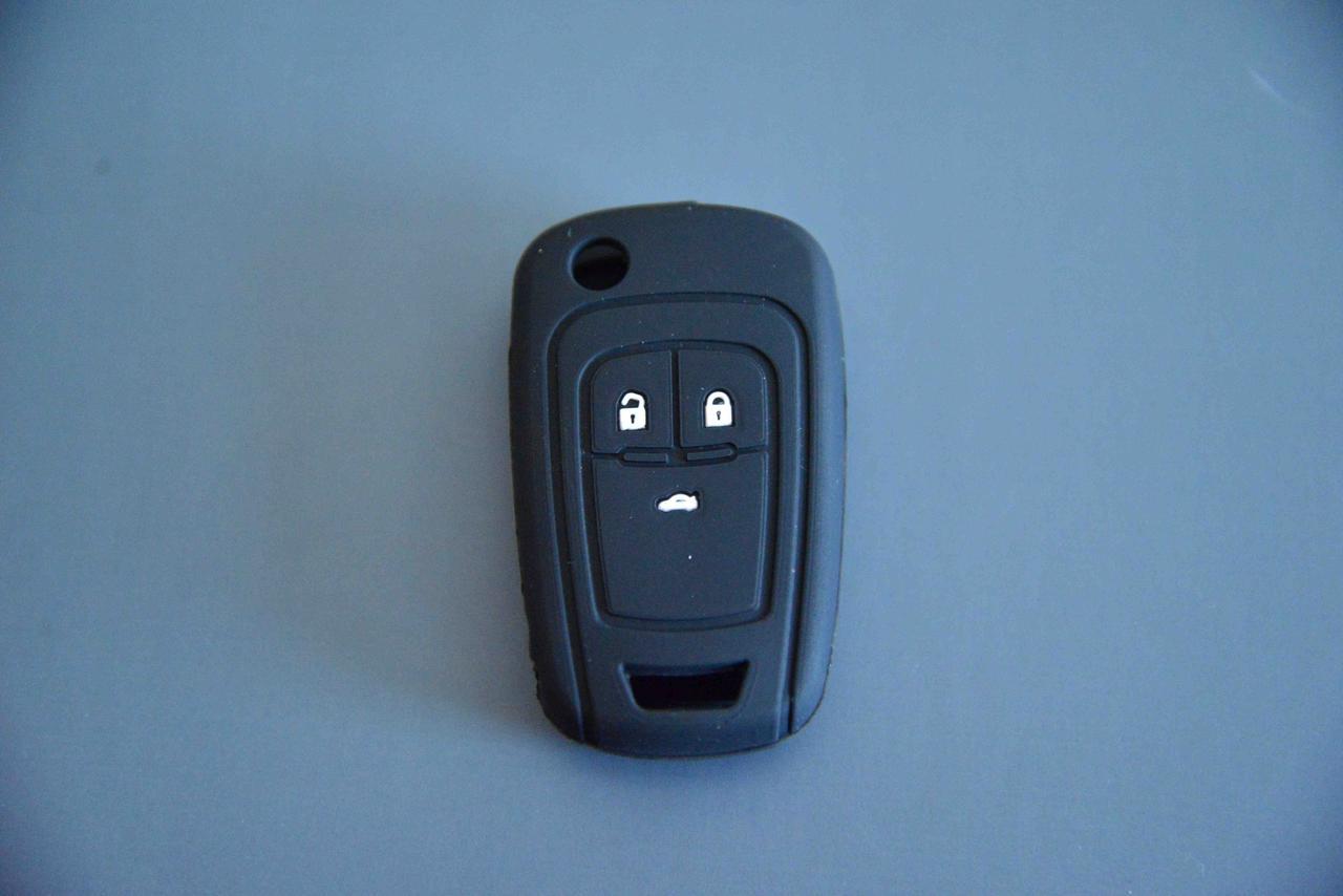 Чехол на ключ корпус выкидного автоключа для CHEVROLET (Шевролет круз) CRUZE 3 - кнопки