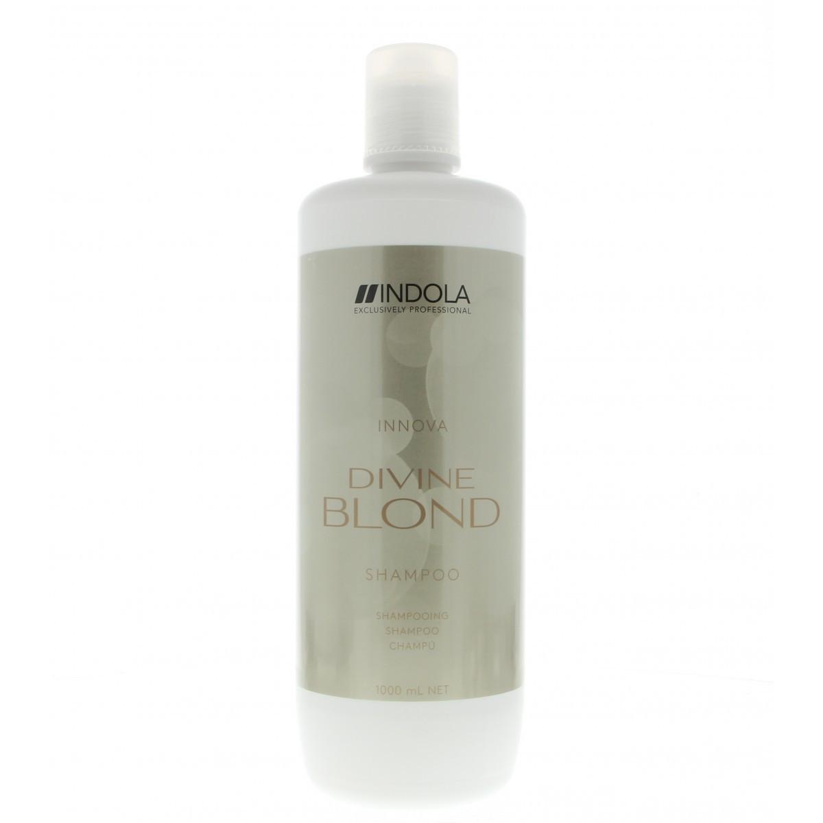 Indola Divine Blond Shampoo шампунь для светлых волос, 1000 мл