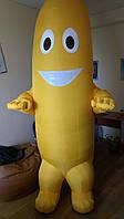Надувной костюм (пневмокостюм, пневморобот) Банан, фото 1