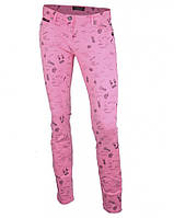 Джинсы розовые стрейчевые MAISON SCOTCH, размер 26/regular
