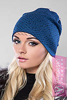 Женская шапка с вуалью