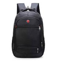 Вместительный мужской рюкзак. Черный