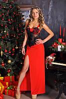 Женское платье в пол (2 цвета) (возможен пошив размеров 46-58)
