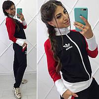 Спортивный костюм женский Адидас трехцветный № 2137 (5052 бат)