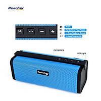 Портативная колонка Bluetooth Reacher S311  FM-радио USB, Micro SD, 10Вт, синиий, фото 1