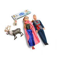 """Кукла """"F""""Семья"""" мальчик+девочка, 2 фигурки в наборе, в пак.17*35см"""