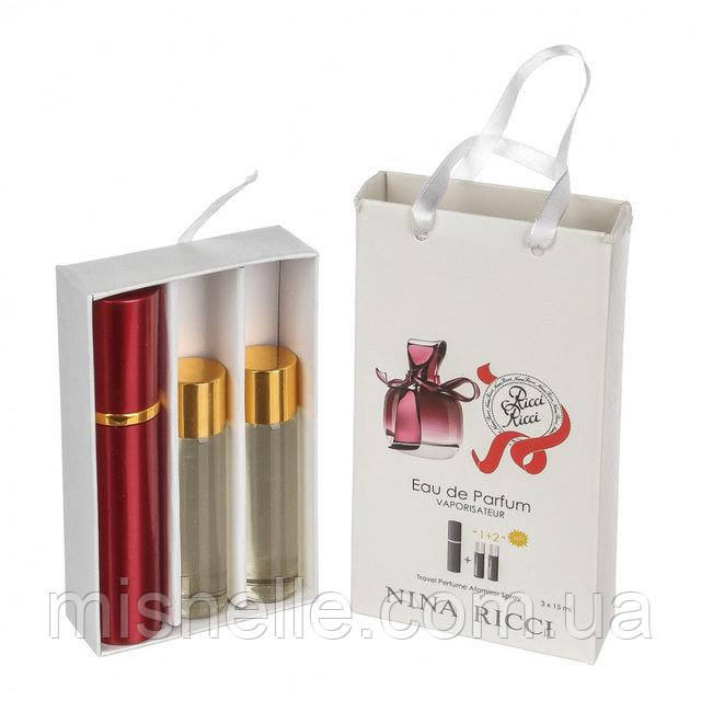 Набір жіночої парфумерії Nina Ricci Ricci Ricci ( Ніна Річчі Річчі Річчі)