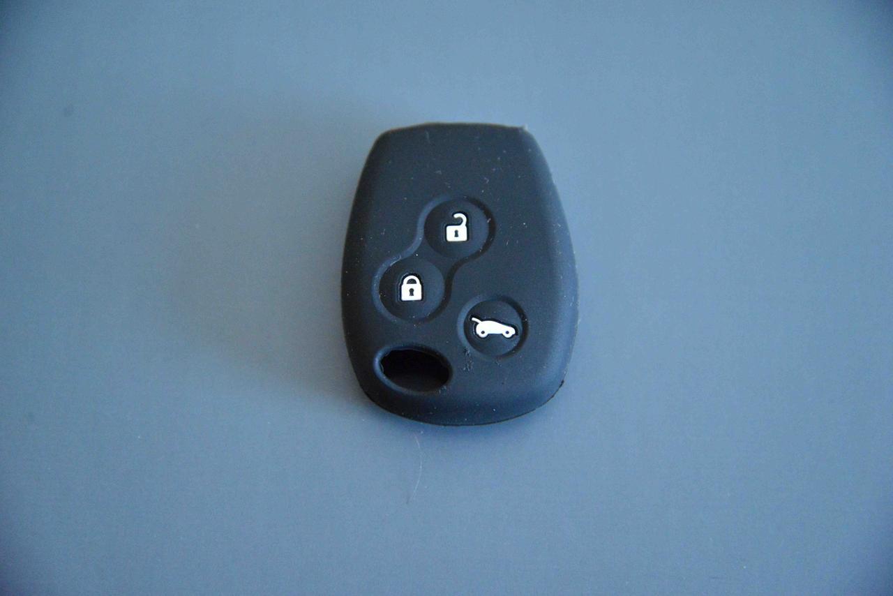 Чехол на ключ  для RENAULT (рено) Traffic Траффик 3 кнопки