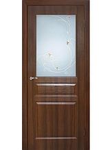 Полотно дверное ПВХ Адель со стеклом СС+КР