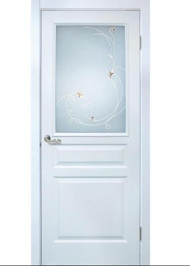Межкомнатные двери ПВХ Барселона СС+КР