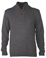 21364 свитер серый SOLID