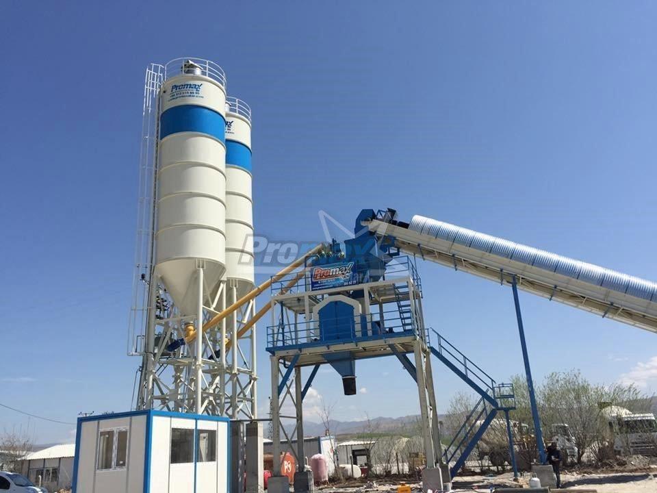 Стационарный бетонный завод PromaxStar S100-SNG (Турция)