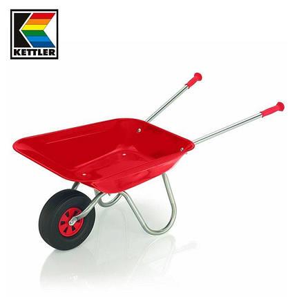 Детская Металлическая красная Тачка  KETTLER 08410-500, фото 2