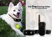 Электроошейник для собак с lcd  дисплеем remote pet training