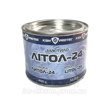 Смазка KSM Protec Литол-24 0,4кг, фото 2