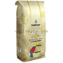 Кофе DALLMAYR Crema d'Oro  Kolumbien зерно 1000 г
