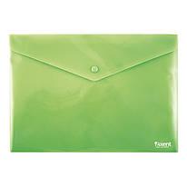 Конверт на кнопке А4, непрозрачный, зеленый, Axent, 1412-25-A, 15984