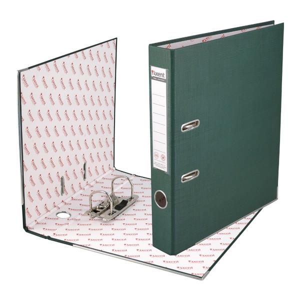 Папка-регистратор А4, ширина 50 мм, зеленый, Classic, Axent, 1713-04C-A, 18459