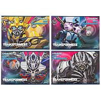 "Альбом для рисования 12 листов, скоба, ""Transformers"", Kite, TF17-241, 204520"