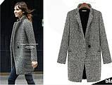Женское пальто из твида, фото 2
