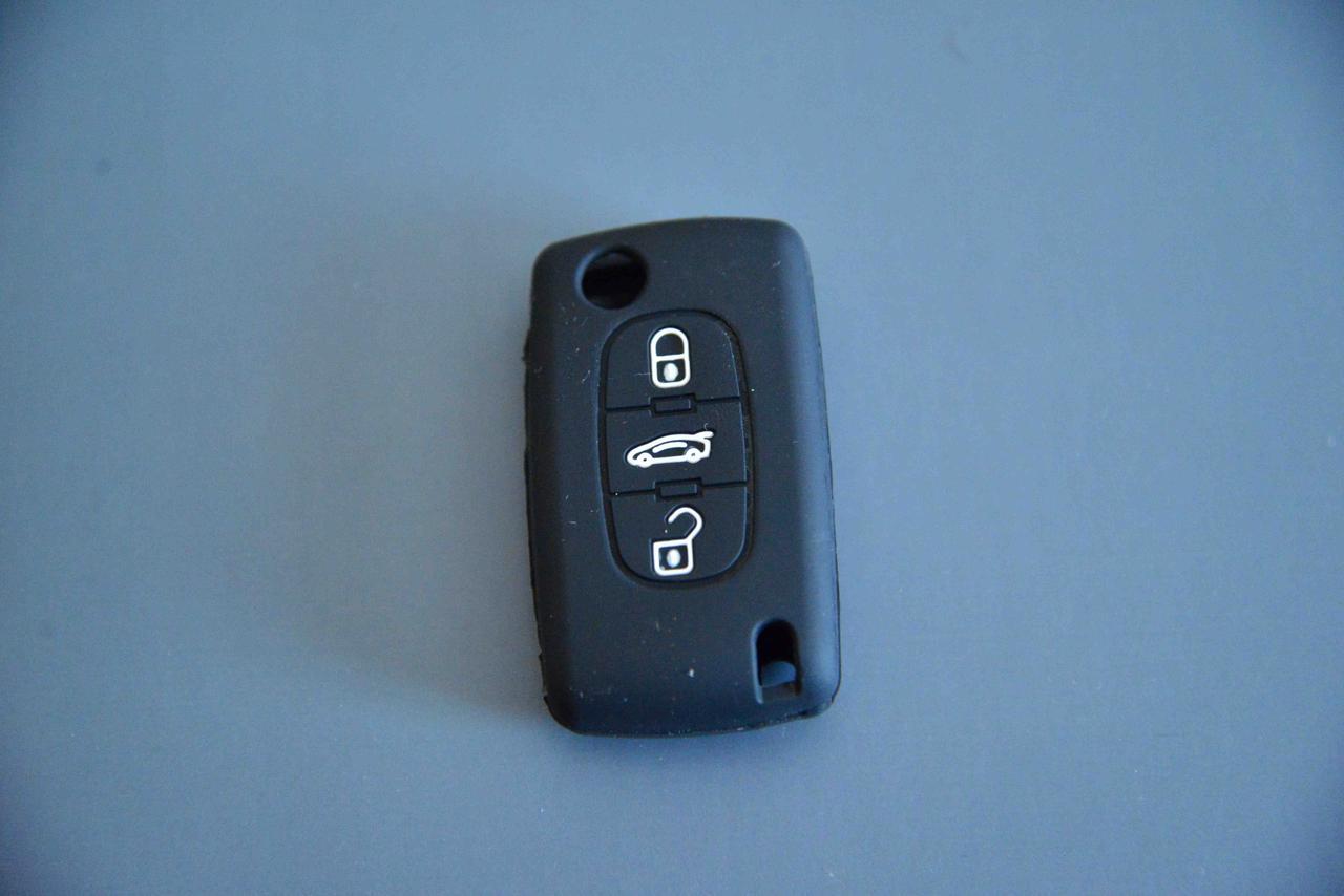 Чехол выкидного ключа для PEUGEOT (Пежо) 407, 4007, 607, Bipper, 3 - к