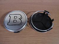 Колпачки на диски Mercedes B с кольцом 76 мм