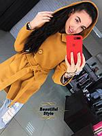 Женское демисезонное пальто Адель