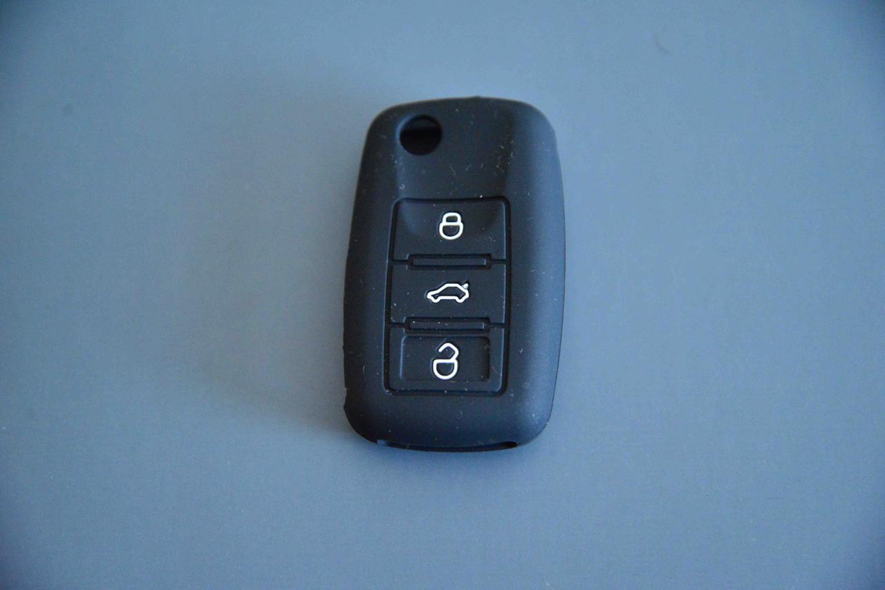 Чехол выкидного ключа для SKODA (шкода) 3 - кнопки