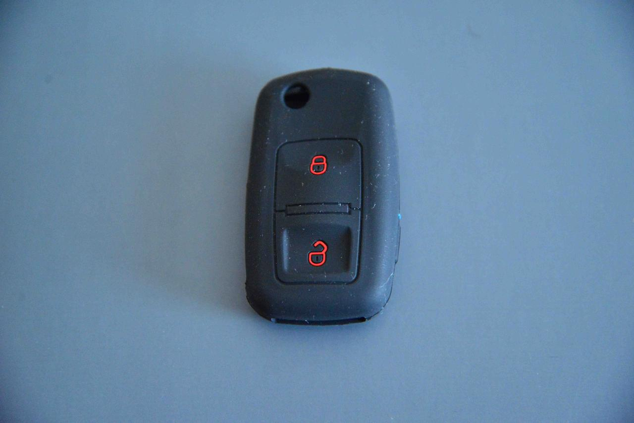 Чехол выкидного ключа для Seat (Сеат) 2 кнопки