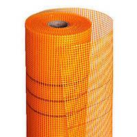 Сетка штукатурная щелочеустойчивая Fiberglass оранжевая с размером ячеек 5х5