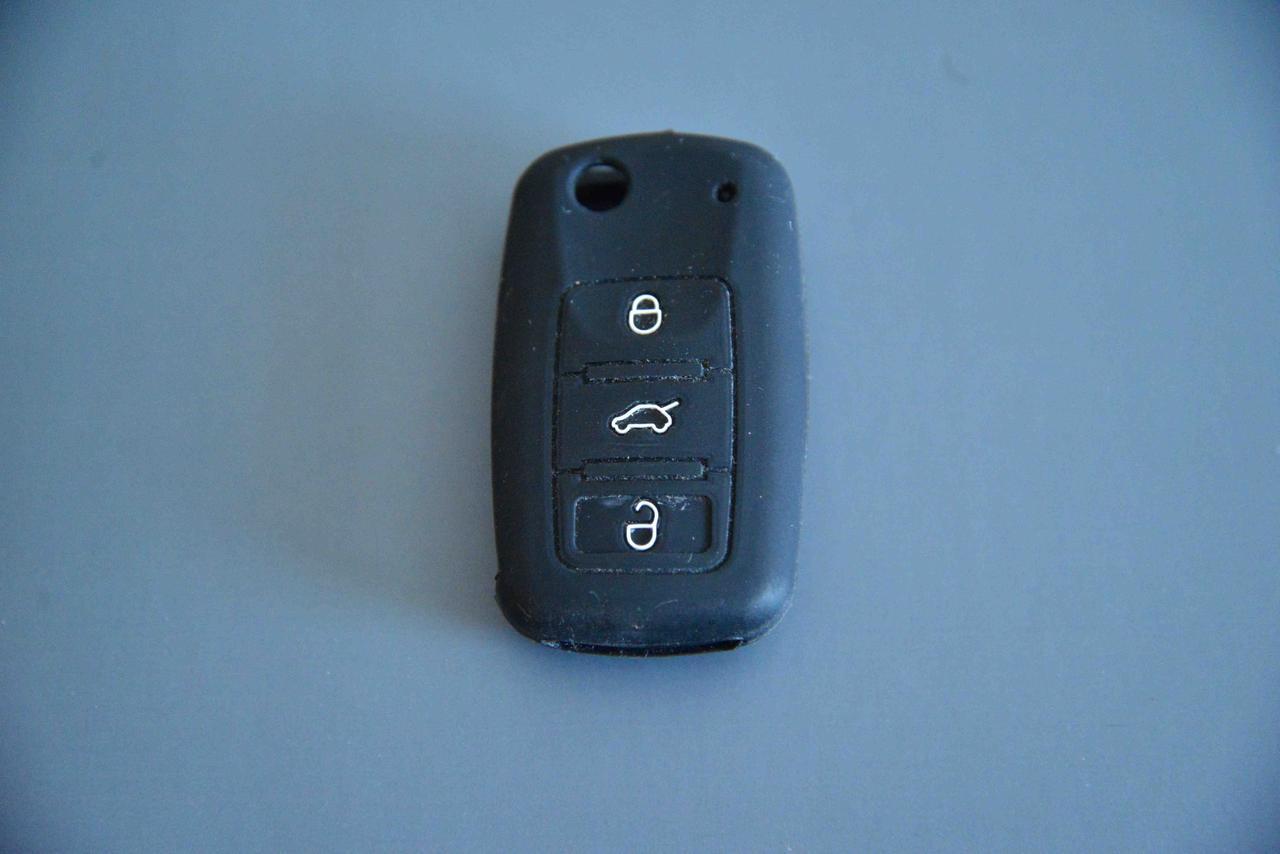 Чехол выкидного ключа для Seat (сиат) 3 - кнопк
