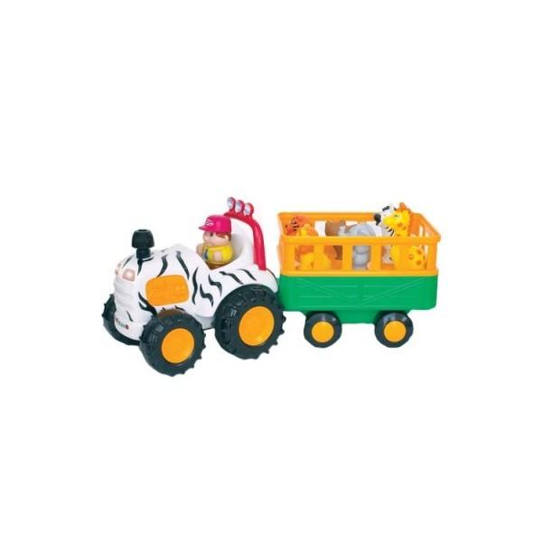Трактор Сафари игровой набор русск. язык Kiddieland