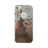 Чехол силиконовый Mask Collection Париж для iPhone 5s