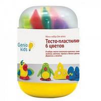 """Мини-набор для лепки """"Тесто-пластилин 6 цветов"""""""