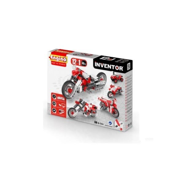 Конструктор серии INVENTOR 12 в 1 Мотоциклы