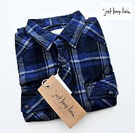Мужская рубашка фланелевая JKL®(США) (L) /100% хлопок /Оригинал из США