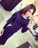 Красиве жіноче плаття довжини міді з пояском (3 кольори) (, фото 3