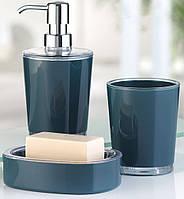 """Набор аксессуаров для ванной комнаты """"Maeselle"""" Petrol"""