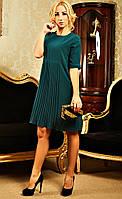 Платье модного фасона с 3/4 рукавом