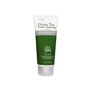 Пенка для умывания с зеленым чаем 3W CLINIC Green Tea Foam